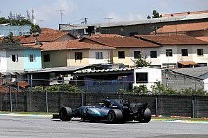 Mercedes no da opciones en los libres 2 de Brasil