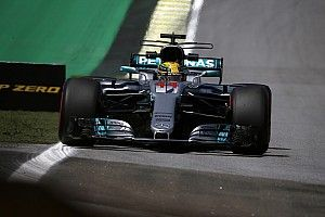 F1ブラジル:FP1はメルセデスが1-2。3番手にライコネン続く