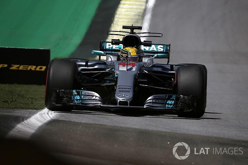 2017 Brezilya GP 1. antrenman: Hamilton ve Mercedes hızlı başladı