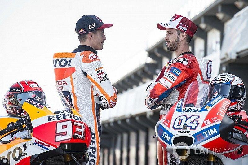 Photos - Márquez vs Dovizioso, le duel surprise