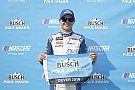 Kyle Larson edges Harvick and Truex for Dover pole