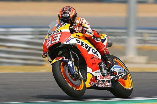 "Marquez: ""Agresif"" Honda motoru endişe verici"