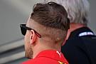 Vettel és a 2018-as frizura