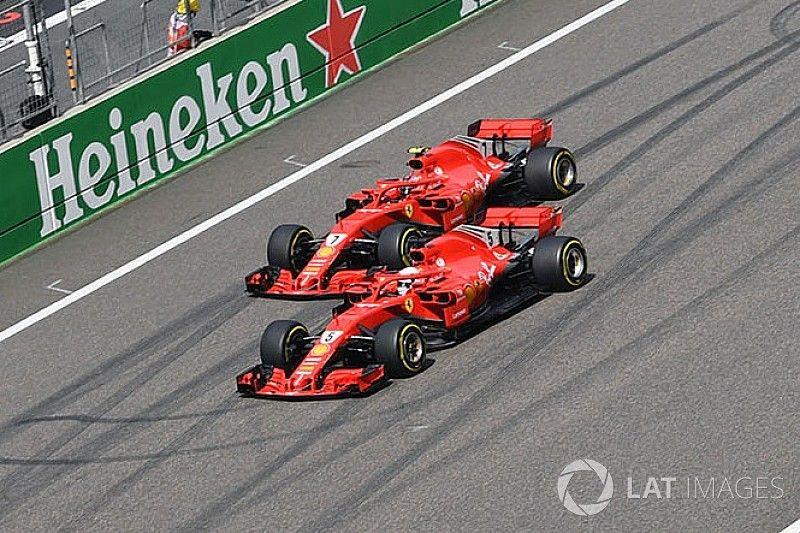 """Raikkonen: """"Si no freno, Vettel y yo nos habríamos tocado en la salida"""""""