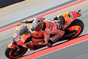 FP3 MotoGP Amerika: Marquez dominan, Rossi kesembilan