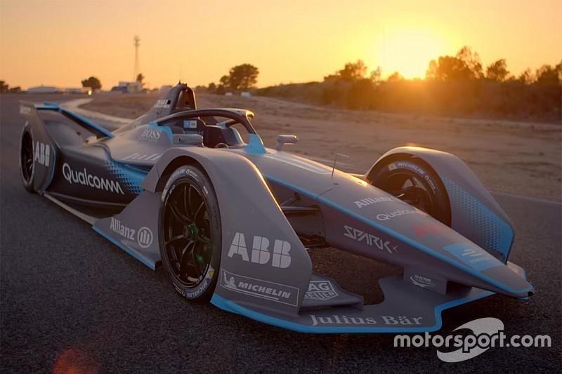 Formula E presents Gen2 car for 2018/19 season