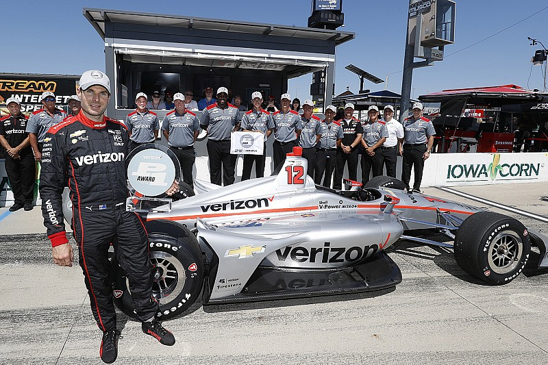 Will Power centra ad Iowa la pole numero 52 della sua carriera