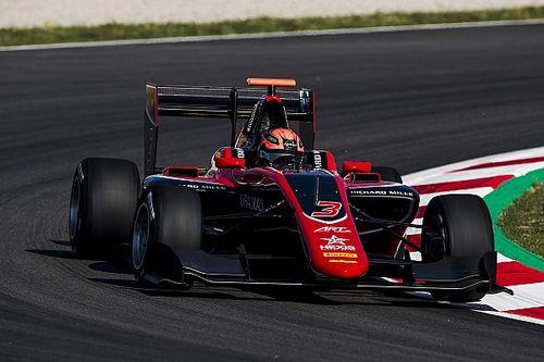 GP3 Barcelona: debutant Mazepin bovenaan op ART-podium