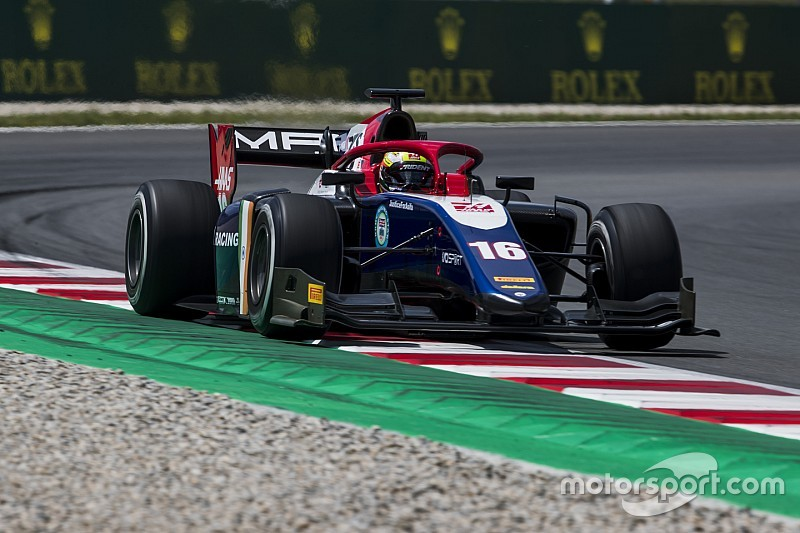 Barcelona F2: Maini endures difficult weekend