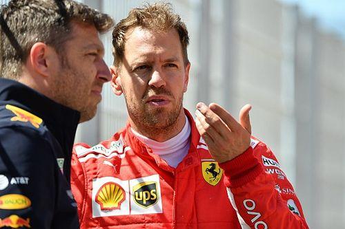 Vettel szerint a Ferrari a normál abroncsokkal rosszabb lett volna a Spanyol GP-n