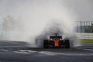 Fotogallery F1: prima giornata di test all'Hungaroring