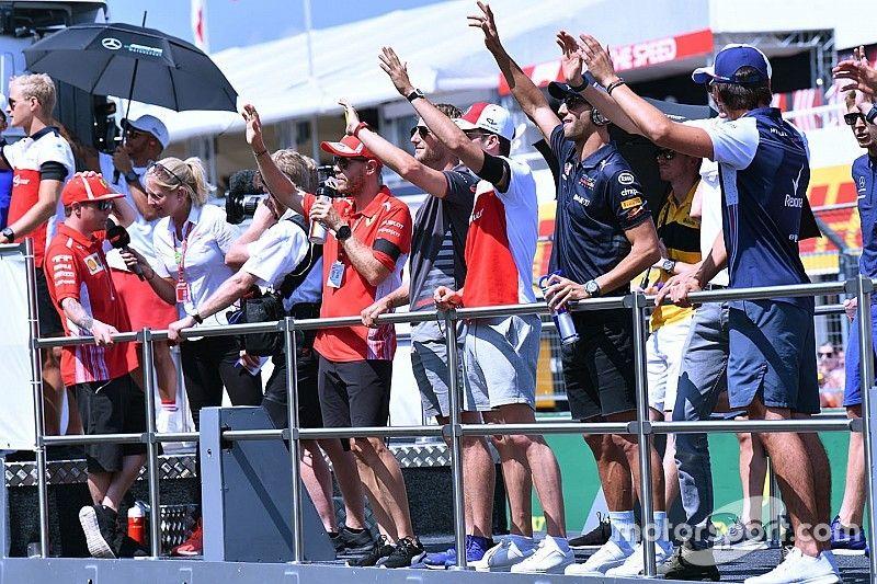 Hay 14 asientos restantes en la F1 para 2019