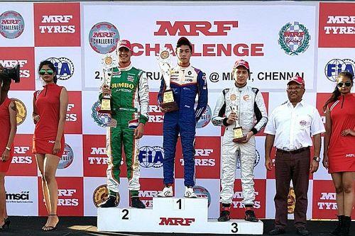 MRF Chennai: Presley bawa Merah Putih ke puncak podium Race 2