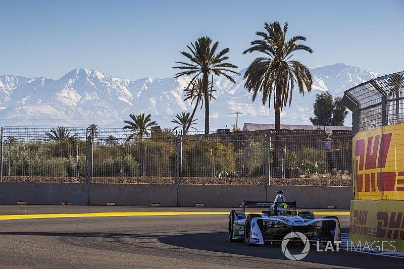 Lucas Di Grassi si fa subito sentire a Marrakech