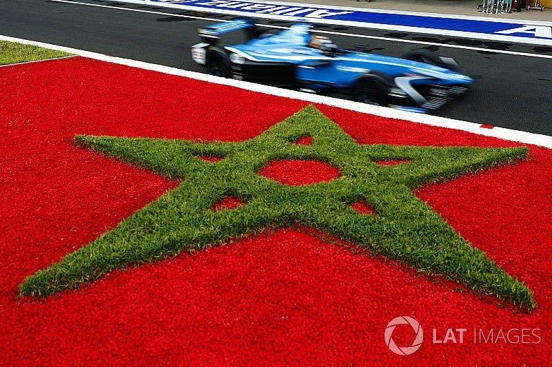 La grille de départ de l'E-Prix de Marrakech