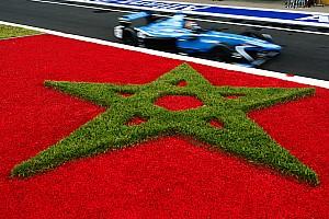 Formule E Résultats La grille de départ de l'E-Prix de Marrakech