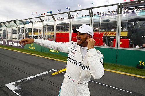 """Hamilton: """"Grote stap in rondetijd niet door party modus"""""""