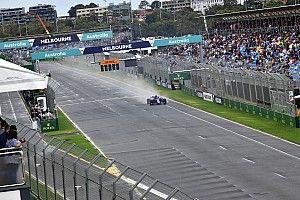 GALERI: Kondisi basah latihan terakhir F1 GP Australia