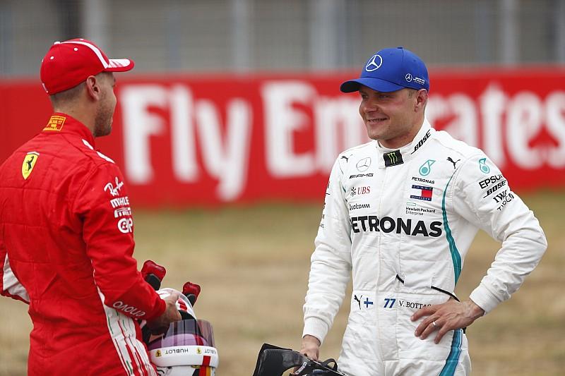 """Bottas: """"Hoy Vettel y Ferrari fueron simplemente más rápidos que nosotros"""""""
