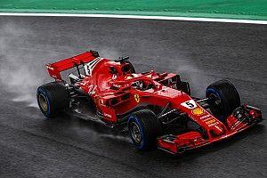 Vettel, sorunlu güne rağmen iyimser