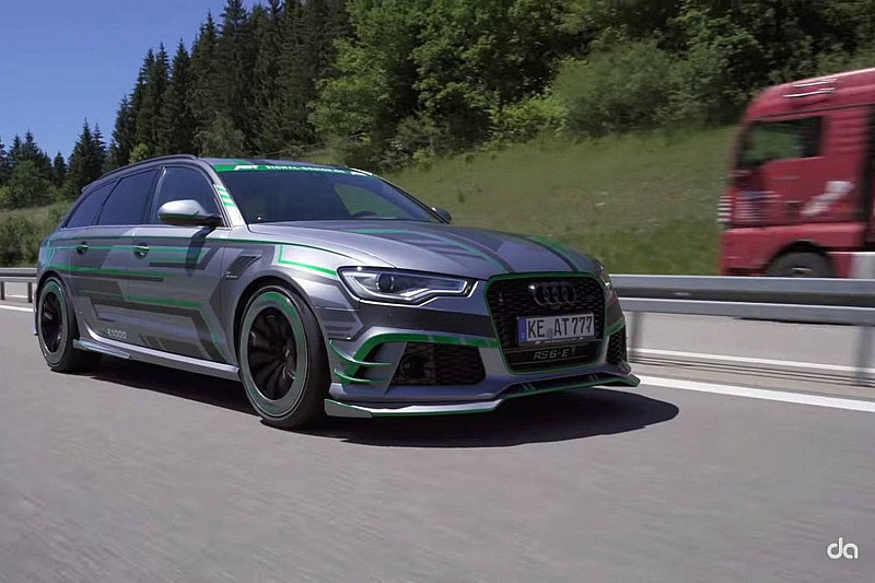 Audi RS 6-E, 1.000 CV de locura