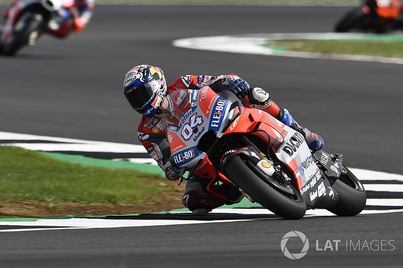 Silverstone MotoGP: Dovizioso edges Crutchlow to top FP2