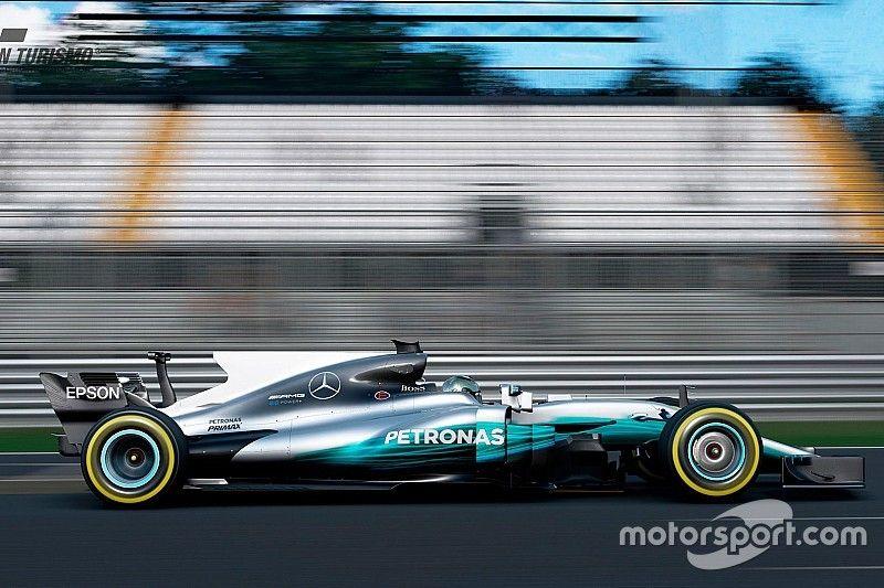 Conduce el F1 2017 de Hamilton en la nueva actualización de GT Sport
