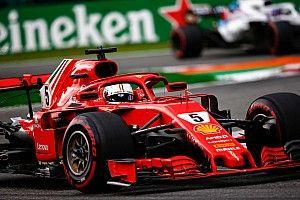 Феттель обвинил Хэмилтона в столкновении на старте Гран При Италии
