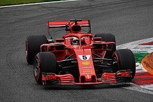 意大利大奖赛FP2:维特尔助法拉利占据前二,埃里克森遭严重撞车