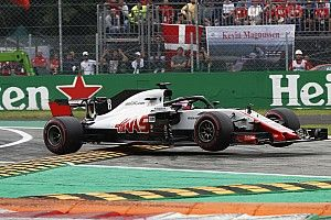 Grosjean excluded from Italian GP over illegal floor