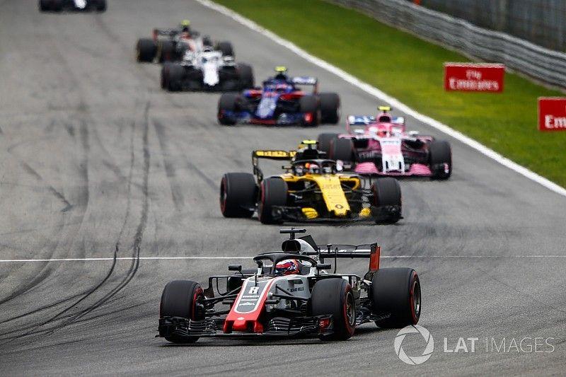 Renault cuestiona la legalidad del Haas de Grosjean