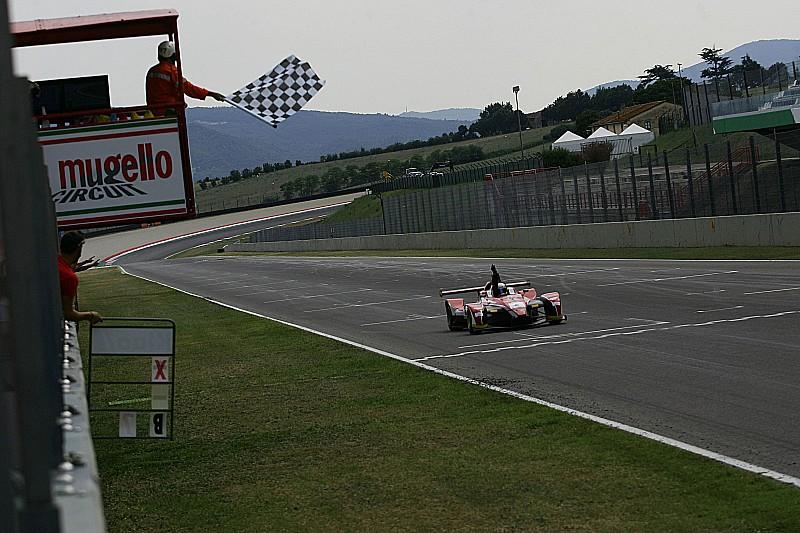 Matteo Pollini si impone in Gara 1 al Mugello
