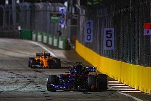 F1シンガポールGP、DRSゾーンが3箇所に。ターン13〜14に追加