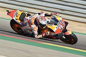 Marquez piega Dovizioso e ritrova la vittoria ad Aragon, sul podio un super Iannone