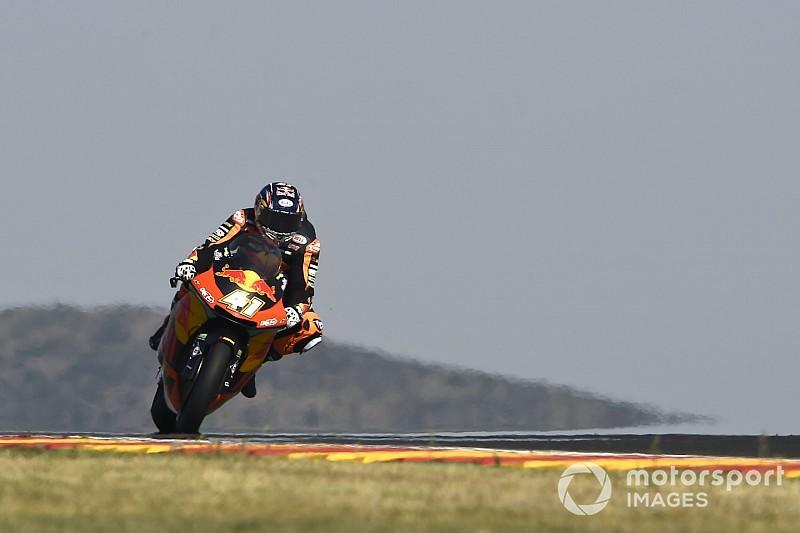 Moto2 Aragon: Binder zorgt voor sensatie met pole-position