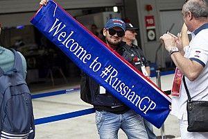 GALERI: Suasana persiapan GP Rusia