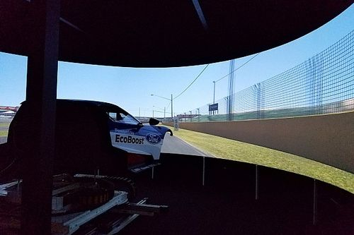 Ford undergoes early Bathurst test with GT simulator