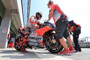 Lorenzo, el más rápido en el test de Misano