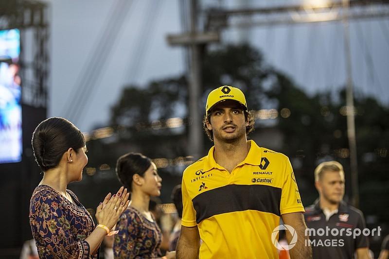 Sainz, positivo de cara al GP de Rusia