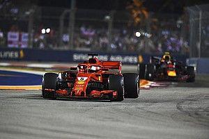 """Vettel defends Ferrari over """"aggressive"""" strategy"""