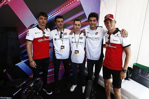 La Sauber ingaggia Phelipe Reis per la propria line-up eSports