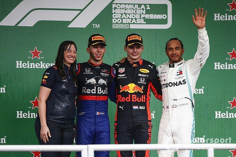 "Red Bull: Strategist's podium visit reward for ""brave"" call"