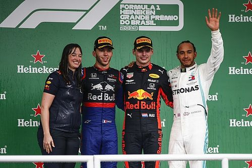 "Red Bull: Strategist's podium visit reward for ""brave"" call"
