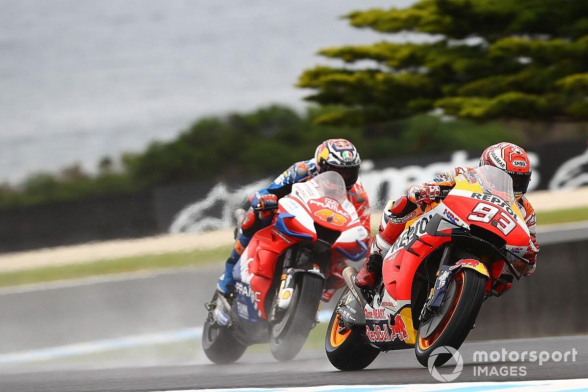 Положение в зачете MotoGP после ГП Австралии