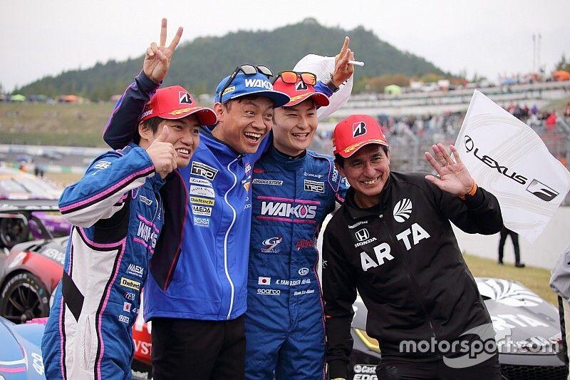 Motegi Super GT: Yamashita, Oshima snatch title from TOM'S