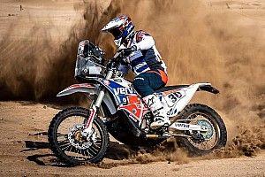 Tomiczek wycofał się z Dakaru