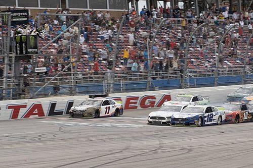 NASCAR Talladega: Ryan Blaney gewinnt Fotofinish bei Playoff-Crashs