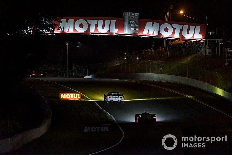 Petit Le Mans: Mazda vs AXR battle rages with two hours left