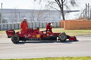 Ferrari tłumaczy awarię
