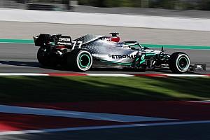A Mercedes W11 hátsó felfüggesztése is rendkívül innovatív lett